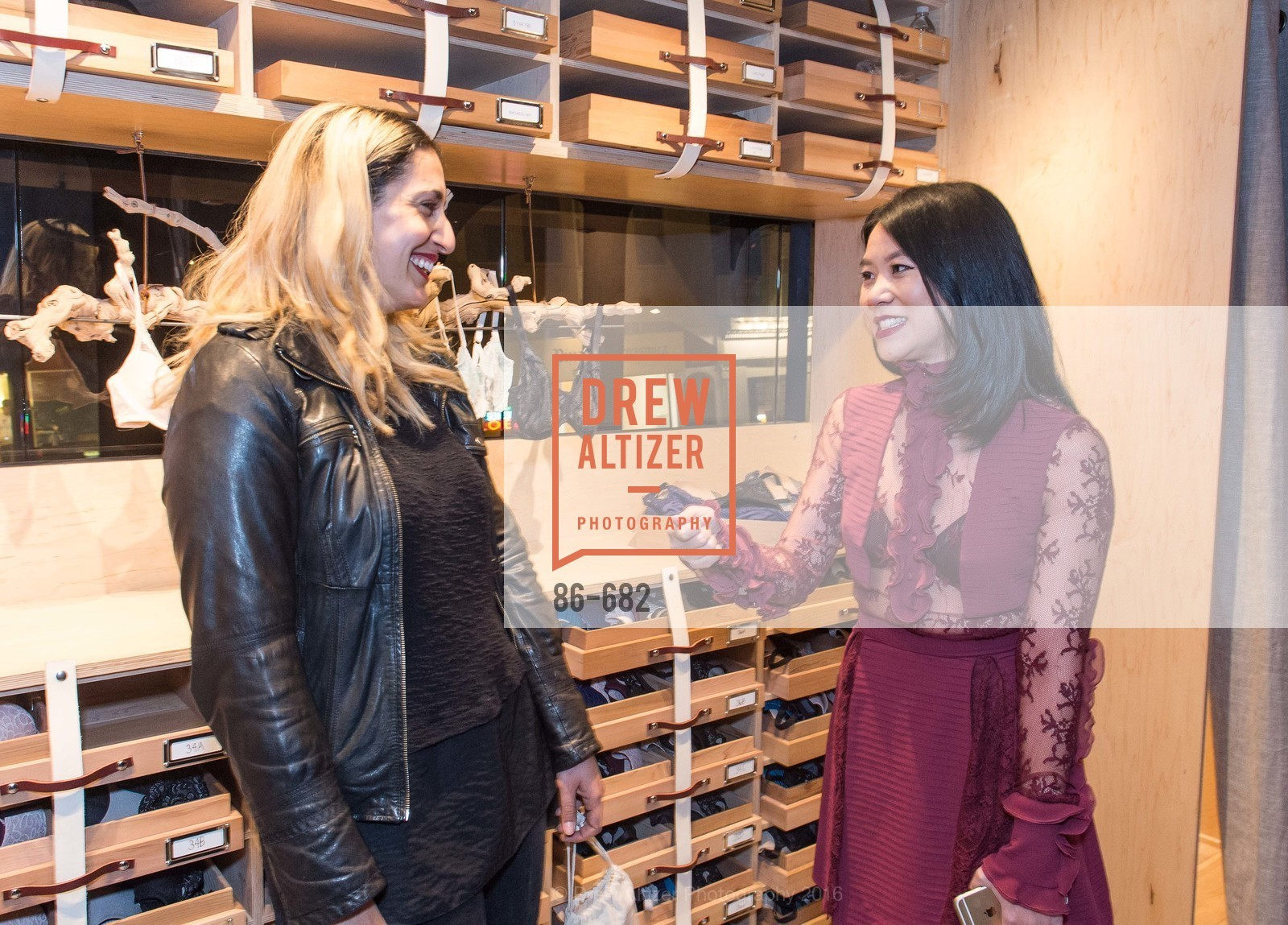 Sara Franti, Michelle Lam, Michelle Lam hosts the launch of True&Co.'s Try-on Truck National Tour, MatrixFillmore. 3138 Fillmore, January 12th, 2016,Drew Altizer, Drew Altizer Photography, full-service agency, private events, San Francisco photographer, photographer california