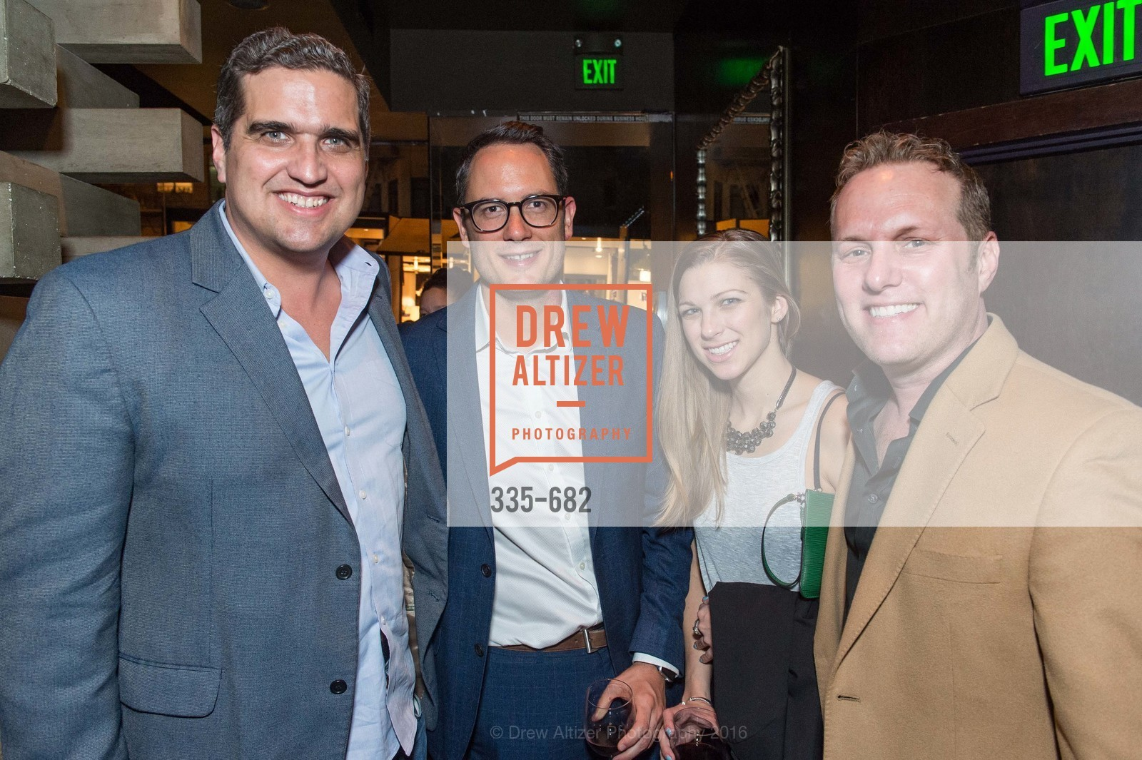 Peter Stern, Heather Rhodes, Michael Ehrlich, Michelle Lam hosts the launch of True&Co.'s Try-on Truck National Tour, MatrixFillmore. 3138 Fillmore, January 12th, 2016,Drew Altizer, Drew Altizer Photography, full-service agency, private events, San Francisco photographer, photographer california