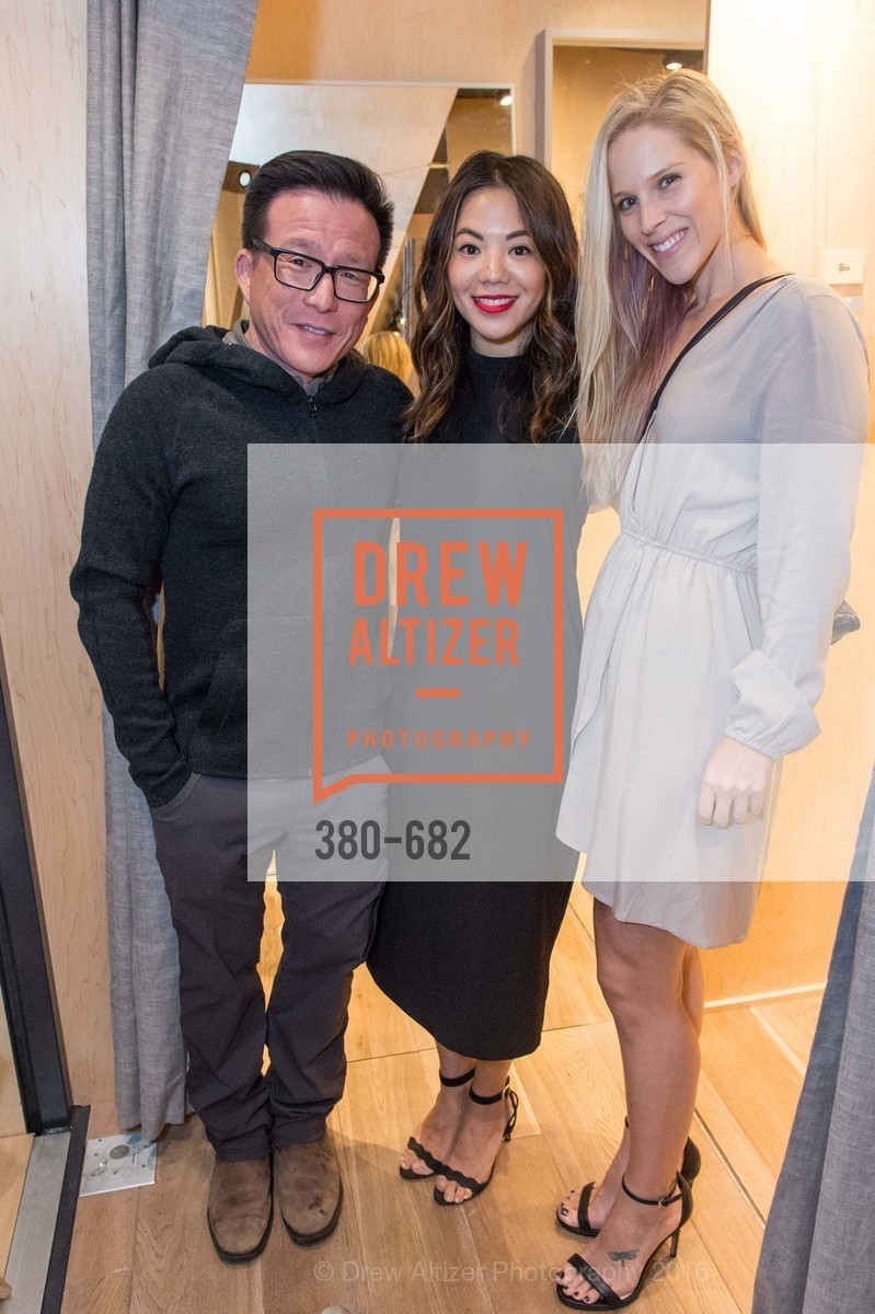 Bart Chin, Natasha Wong, Kate Hutchinson, Michelle Lam hosts the launch of True&Co.'s Try-on Truck National Tour, MatrixFillmore. 3138 Fillmore, January 12th, 2016,Drew Altizer, Drew Altizer Photography, full-service agency, private events, San Francisco photographer, photographer california