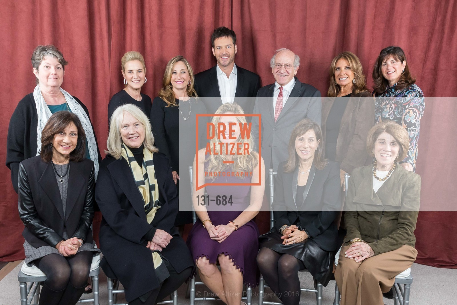 Laurie Kraus Lacob, Deborah Berek, Ann Doerr, Lisa Goldman, Dianne Taube, Suzanne Crandall, Harry Connick Jr., Jonathan Berek, Susie Fox, Lisa Schatz, Fran Codispoti, Jane Solomon, Under One Umbrella, Sharon Heights Golf and Country Club, January 13th, 2016,Drew Altizer, Drew Altizer Photography, full-service agency, private events, San Francisco photographer, photographer california