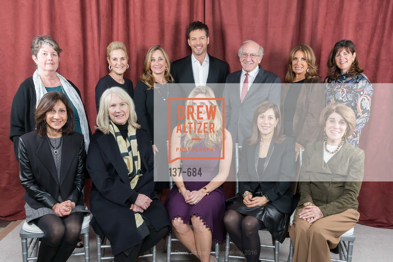 Laurie Kraus Lacob, Deborah Berek, Ann Doerr, Lisa Goldman, Dianne Taube, Suzanne Crandall, Harry Connick Jr., Jonathan Berek, Susie Fox, Lisa Schatz, Fran Codispoti, Jane Solomon, Under One Umbrella, Sharon Heights Golf and Country Club, January 13th, 2016,Drew Altizer, Drew Altizer Photography, full-service event agency, private events, San Francisco photographer, photographer California
