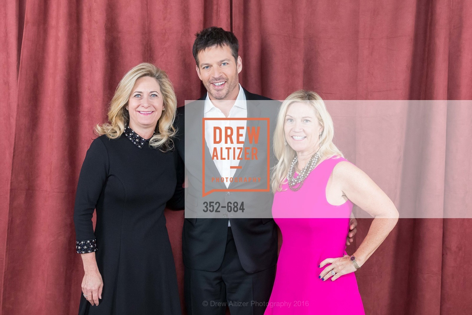 Michelle Culhane, Harry Connick Jr., Mary Stephens, Under One Umbrella, Sharon Heights Golf and Country Club, January 13th, 2016,Drew Altizer, Drew Altizer Photography, full-service agency, private events, San Francisco photographer, photographer california