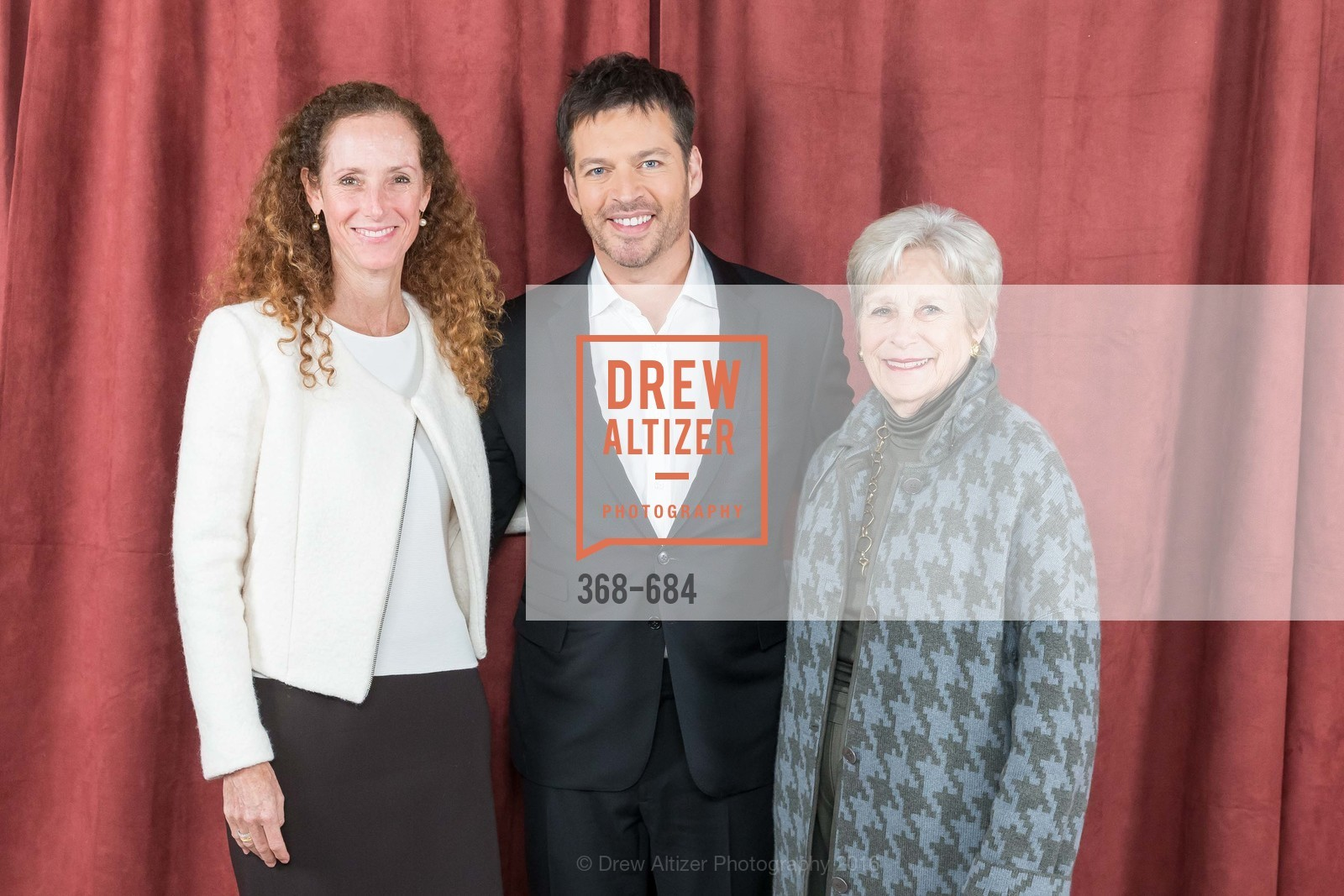 Laura Fisher, Harry Connick Jr., Linda Meier, Under One Umbrella, Sharon Heights Golf and Country Club, January 13th, 2016,Drew Altizer, Drew Altizer Photography, full-service agency, private events, San Francisco photographer, photographer california