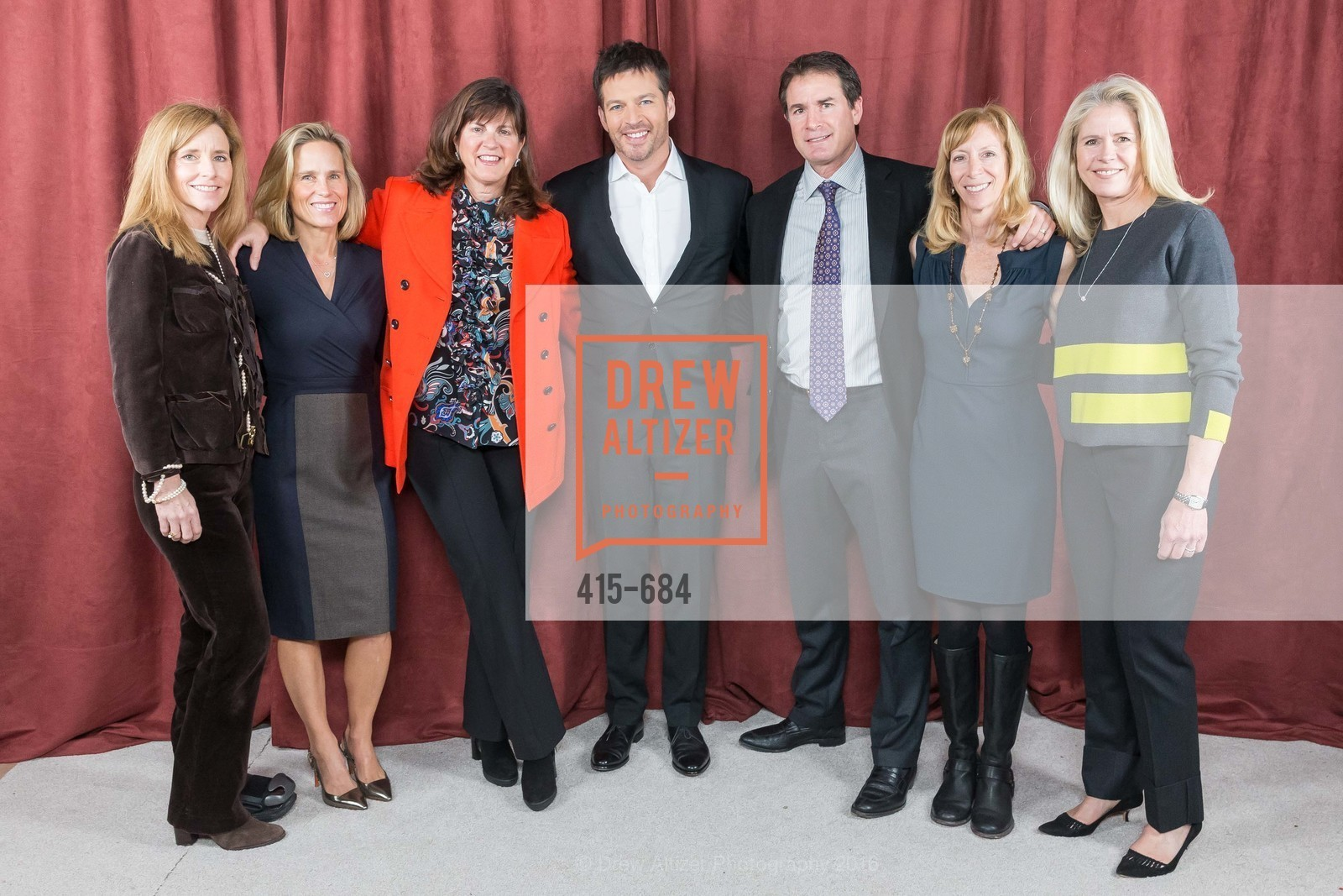 Jane Solomon, Harry Connick Jr., Rhonda Gessow, Under One Umbrella, Sharon Heights Golf and Country Club, January 13th, 2016,Drew Altizer, Drew Altizer Photography, full-service event agency, private events, San Francisco photographer, photographer California
