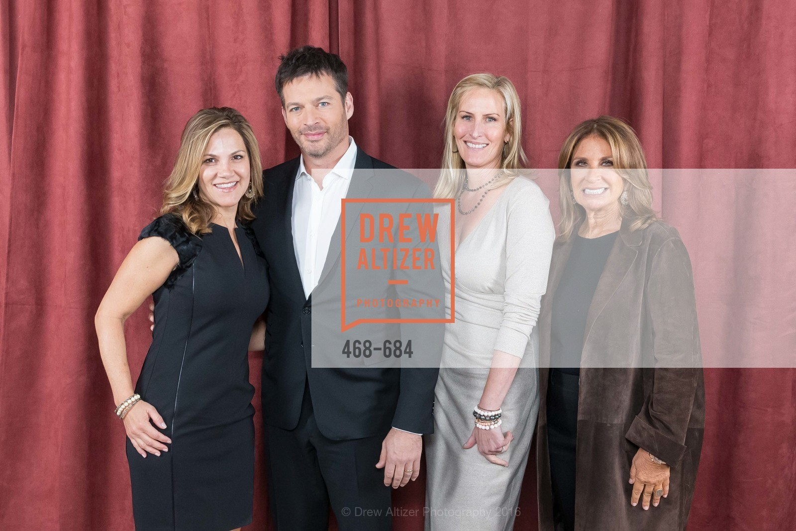 Linda MacDonald, Harry Connick Jr., Sarah Jones, Susie Fox, Under One Umbrella, Sharon Heights Golf and Country Club, January 13th, 2016,Drew Altizer, Drew Altizer Photography, full-service event agency, private events, San Francisco photographer, photographer California