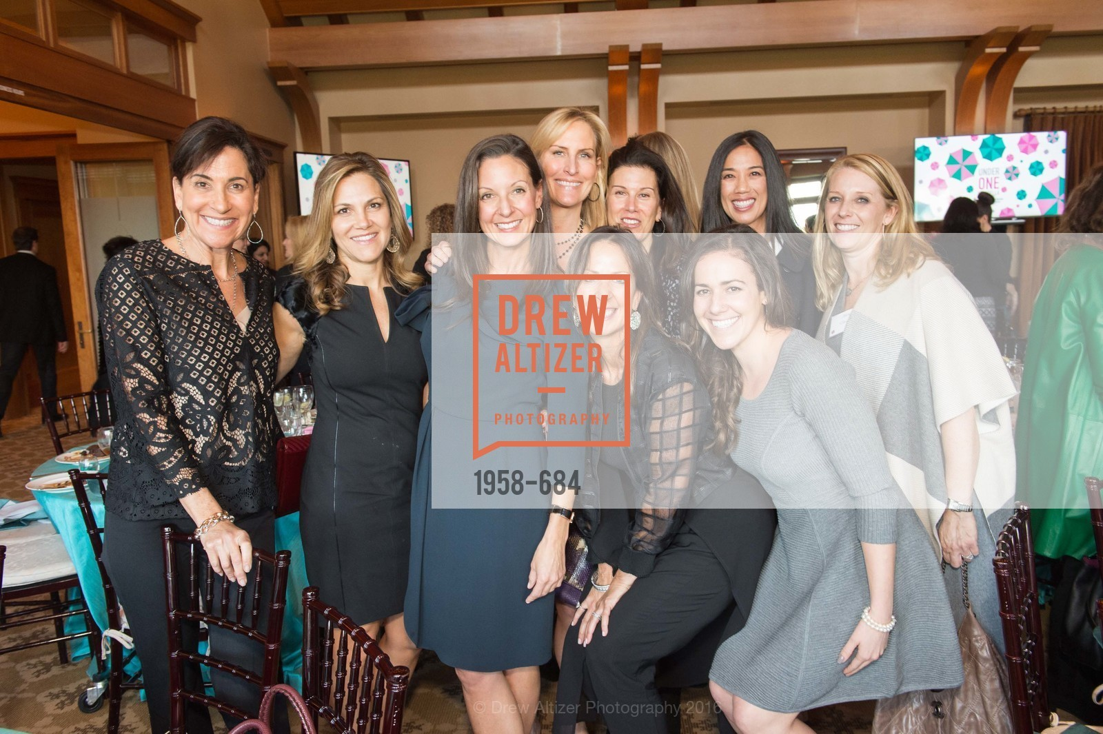 Linda MacDonald, Lisa Moss, Sarah Jones, Jessica Weil, Judy Zafran, Danielle Rivera, Under One Umbrella, Sharon Heights Golf and Country Club, January 13th, 2016,Drew Altizer, Drew Altizer Photography, full-service agency, private events, San Francisco photographer, photographer california