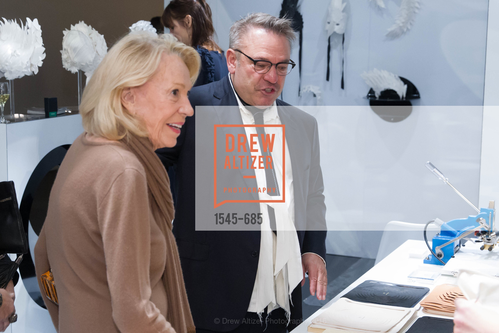 Charlotte Shultz, Stanlee Gatti, FOG Design+Art Preview Gala, Fort Mason Center Festival Pavilion, January 13th, 2016,Drew Altizer, Drew Altizer Photography, full-service agency, private events, San Francisco photographer, photographer california