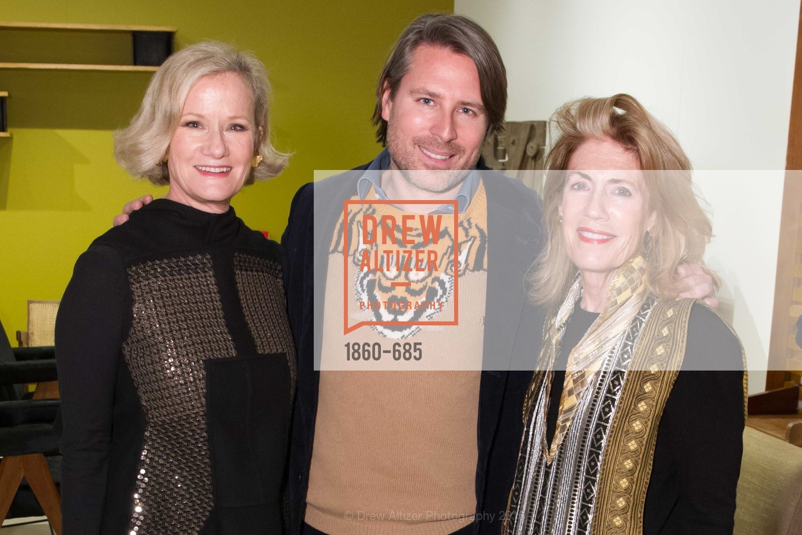 Anne Crawford, Rodman Primack, Cathy Topham, FOG Design+Art Preview Gala, Fort Mason Center Festival Pavilion, January 13th, 2016,Drew Altizer, Drew Altizer Photography, full-service agency, private events, San Francisco photographer, photographer california