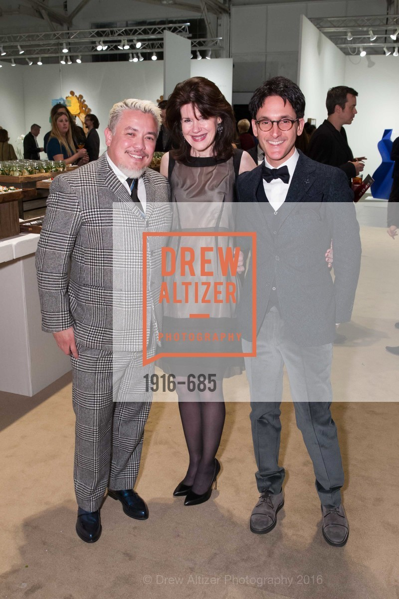 Victor Vargas, Elaine Mellis, James Krohn, FOG Design+Art Preview Gala, Fort Mason Center Festival Pavilion, January 13th, 2016,Drew Altizer, Drew Altizer Photography, full-service agency, private events, San Francisco photographer, photographer california