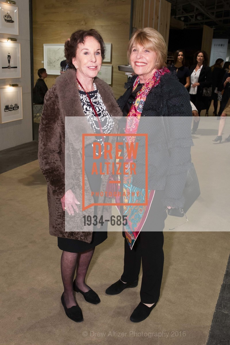 Joan Corrigan, Dagmar Dolby, FOG Design+Art Preview Gala, Fort Mason Center Festival Pavilion, January 13th, 2016,Drew Altizer, Drew Altizer Photography, full-service agency, private events, San Francisco photographer, photographer california