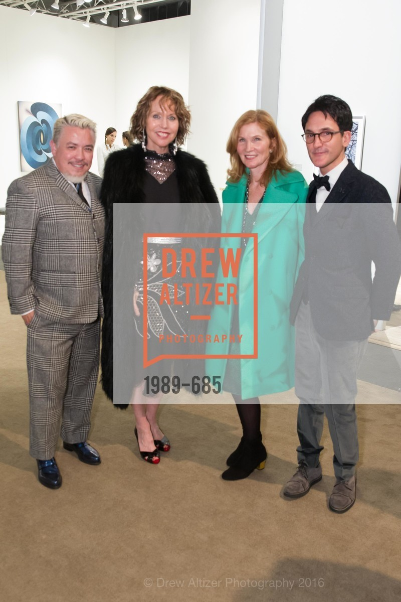 Victor Vargas, Christine Suppes, Margaret Pluvinage, James Krohn, FOG Design+Art Preview Gala, Fort Mason Center Festival Pavilion, January 13th, 2016,Drew Altizer, Drew Altizer Photography, full-service agency, private events, San Francisco photographer, photographer california