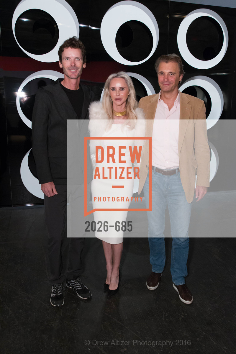 Billy Getty, Vanessa Getty, Alex Weibel, FOG Design+Art Preview Gala, Fort Mason Center Festival Pavilion, January 13th, 2016,Drew Altizer, Drew Altizer Photography, full-service agency, private events, San Francisco photographer, photographer california