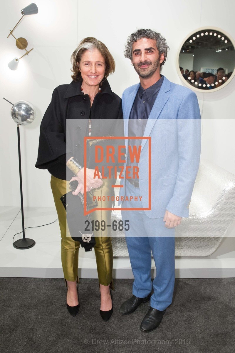 Dominique Levy, Amir Mortazavi, FOG Design+Art Preview Gala, Fort Mason Center Festival Pavilion, January 13th, 2016,Drew Altizer, Drew Altizer Photography, full-service agency, private events, San Francisco photographer, photographer california