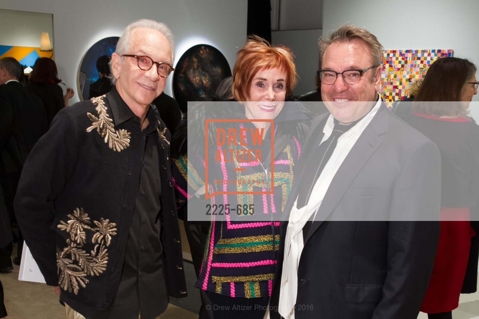 Norman Stone, Norah Stone, Stanlee Gatti, FOG Design+Art Preview Gala, Fort Mason Center Festival Pavilion, January 13th, 2016,Drew Altizer, Drew Altizer Photography, full-service event agency, private events, San Francisco photographer, photographer California
