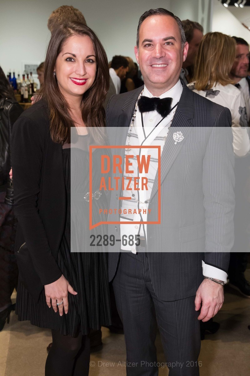 Megan Connelly, Robert Arnold Kraft, FOG Design+Art Preview Gala, Fort Mason Center Festival Pavilion, January 13th, 2016,Drew Altizer, Drew Altizer Photography, full-service agency, private events, San Francisco photographer, photographer california