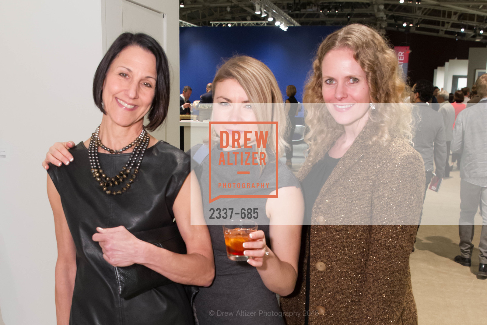 Kathy Bloodworth, Elena Novik, Carolyn Pfaff, FOG Design+Art Preview Gala, Fort Mason Center Festival Pavilion, January 13th, 2016,Drew Altizer, Drew Altizer Photography, full-service agency, private events, San Francisco photographer, photographer california
