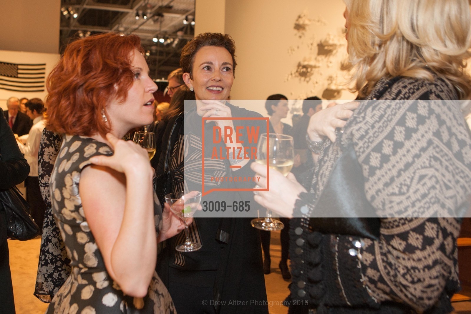 Elaine Asher, Suzette Clarke, FOG Design+Art Preview Gala, Fort Mason Center Festival Pavilion, January 13th, 2016,Drew Altizer, Drew Altizer Photography, full-service event agency, private events, San Francisco photographer, photographer California