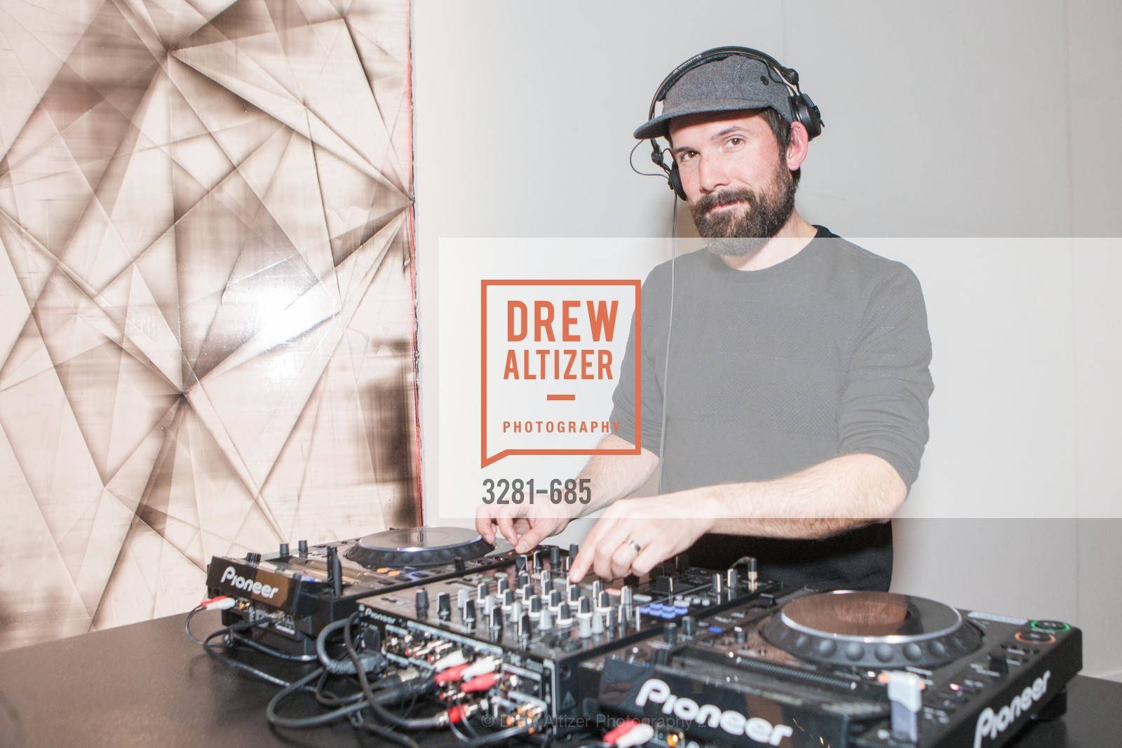 Dj, FOG Design+Art Preview Gala, Fort Mason Center Festival Pavilion, January 13th, 2016,Drew Altizer, Drew Altizer Photography, full-service agency, private events, San Francisco photographer, photographer california