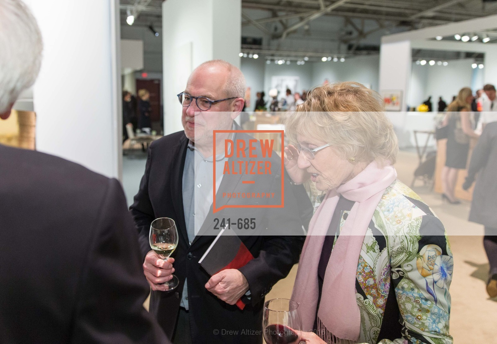 Gary Garrels, Nancy Bechtle, FOG Design+Art Preview Gala, Fort Mason Center Festival Pavilion, January 13th, 2016,Drew Altizer, Drew Altizer Photography, full-service agency, private events, San Francisco photographer, photographer california