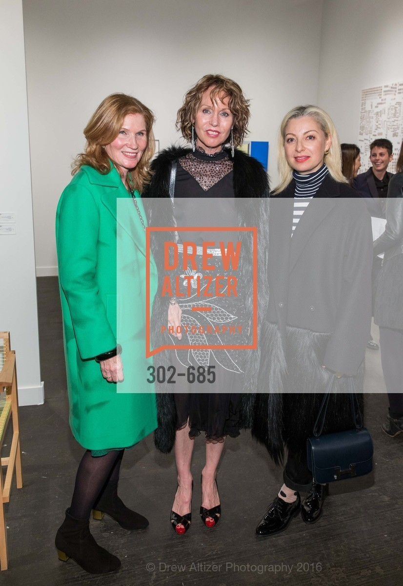 Margaret Pluvineage, Christine Suppes, Sonya Molodetskaya, FOG Design+Art Preview Gala, Fort Mason Center Festival Pavilion, January 13th, 2016,Drew Altizer, Drew Altizer Photography, full-service agency, private events, San Francisco photographer, photographer california