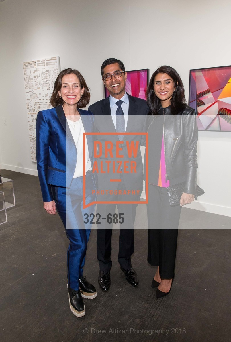 Sarah Thornton, Ravin Agrawal, Alka Agrawal, FOG Design+Art Preview Gala, Fort Mason Center Festival Pavilion, January 13th, 2016,Drew Altizer, Drew Altizer Photography, full-service agency, private events, San Francisco photographer, photographer california