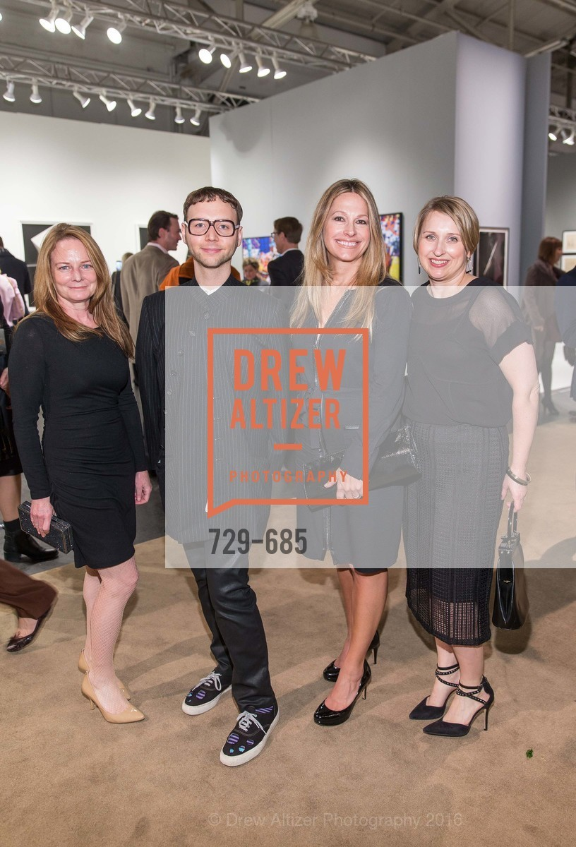 Deb Wandell, Tony Bravo, Carolyne Zinko, Laura Compton, FOG Design+Art Preview Gala, Fort Mason Center Festival Pavilion, January 13th, 2016,Drew Altizer, Drew Altizer Photography, full-service agency, private events, San Francisco photographer, photographer california