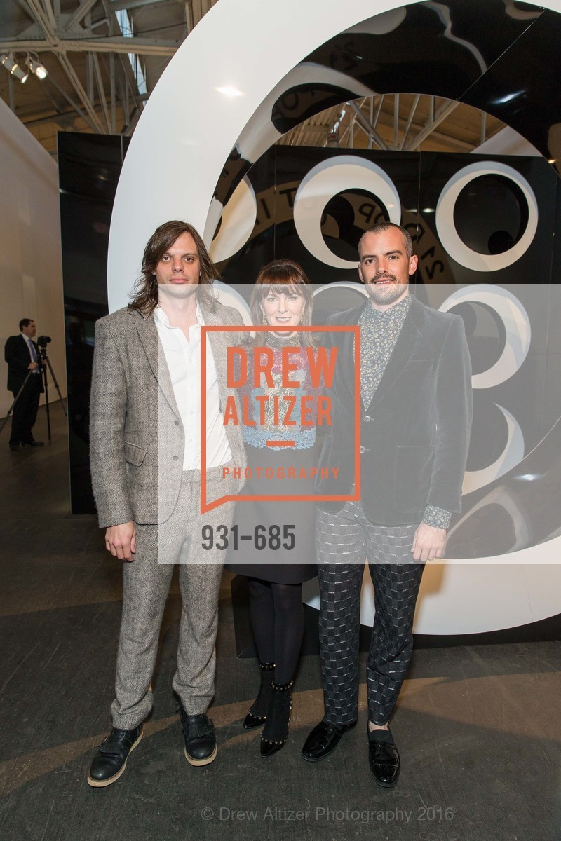 Nikolai Haas, Allison Speer, Simon Haas, FOG Design+Art Preview Gala, Fort Mason Center Festival Pavilion, January 13th, 2016,Drew Altizer, Drew Altizer Photography, full-service agency, private events, San Francisco photographer, photographer california