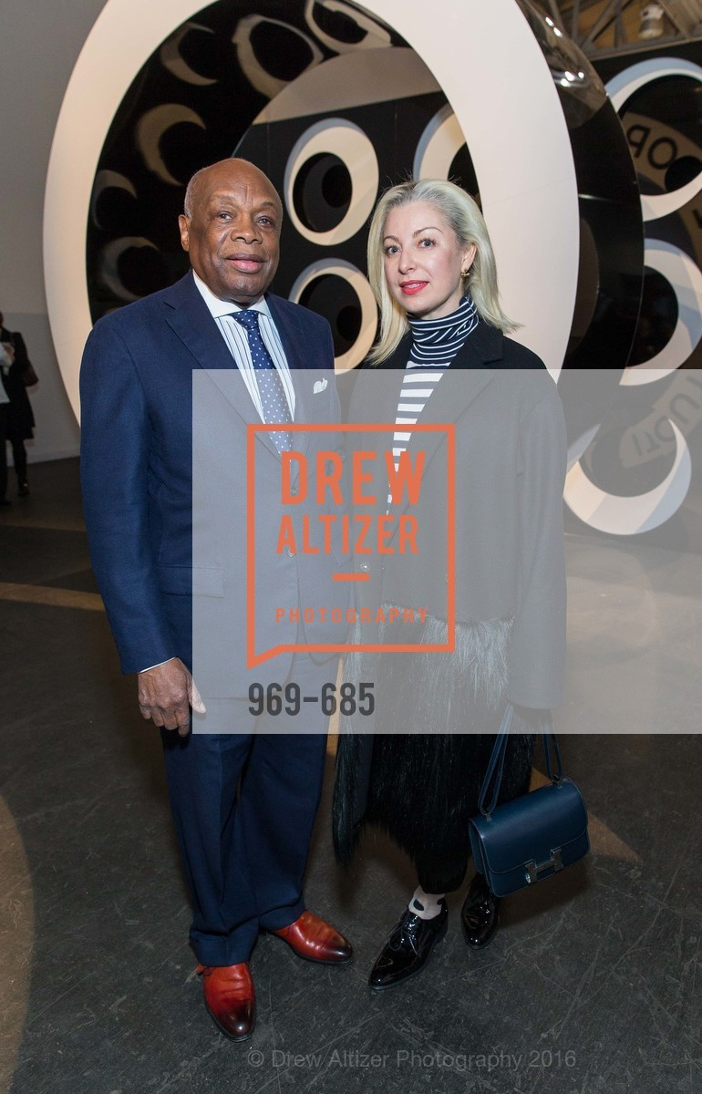 Willie Brown, Sonya Molodetskaya, Photo #969-685
