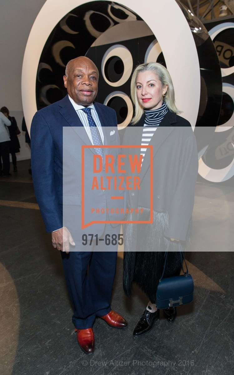 Willie Brown, Sonya Molodetskaya, FOG Design+Art Preview Gala, Fort Mason Center Festival Pavilion, January 13th, 2016,Drew Altizer, Drew Altizer Photography, full-service agency, private events, San Francisco photographer, photographer california