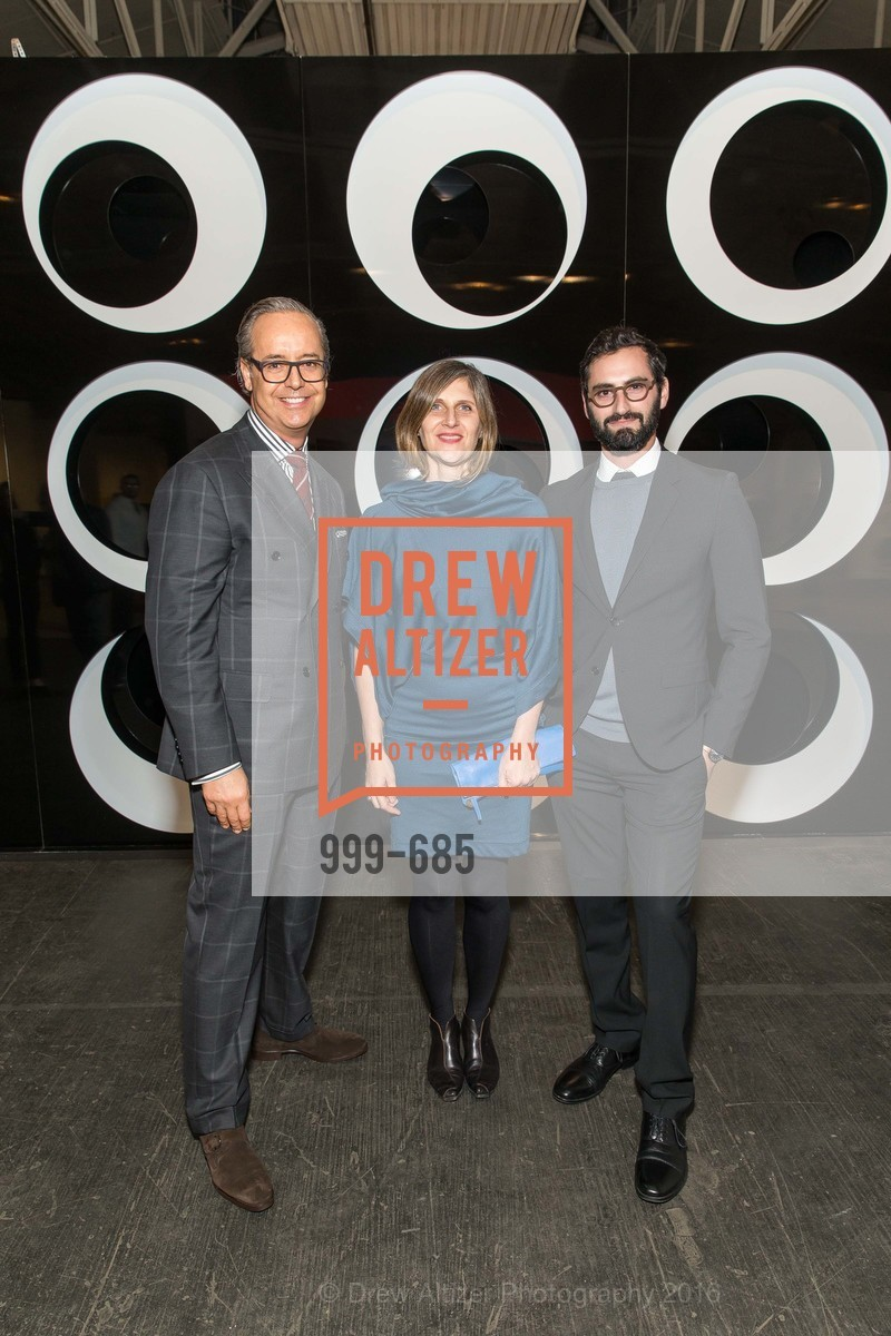 Douglas Durkin, Jennifer Dunlop Fletcher, Joseph Becker, FOG Design+Art Preview Gala, Fort Mason Center Festival Pavilion, January 13th, 2016,Drew Altizer, Drew Altizer Photography, full-service agency, private events, San Francisco photographer, photographer california