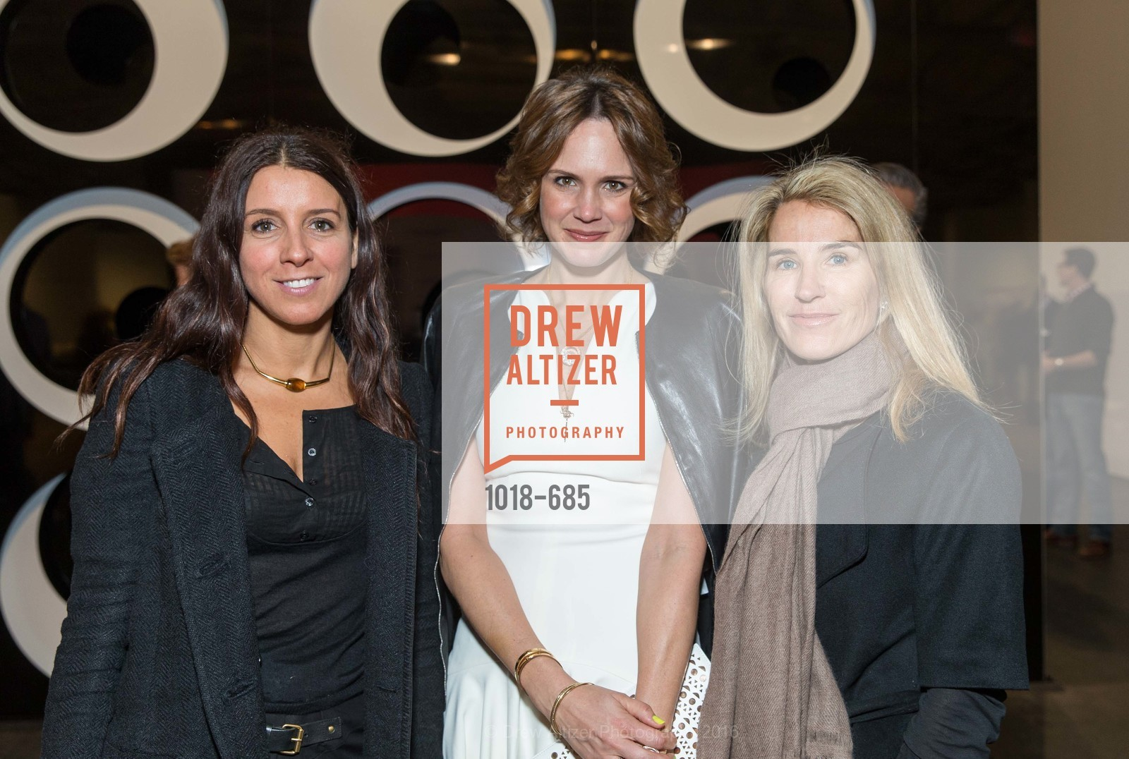 Maca Huneeus, Jessica Moment, Summer Tompkins Walker, FOG Design+Art Preview Gala, Fort Mason Center Festival Pavilion, January 13th, 2016,Drew Altizer, Drew Altizer Photography, full-service agency, private events, San Francisco photographer, photographer california