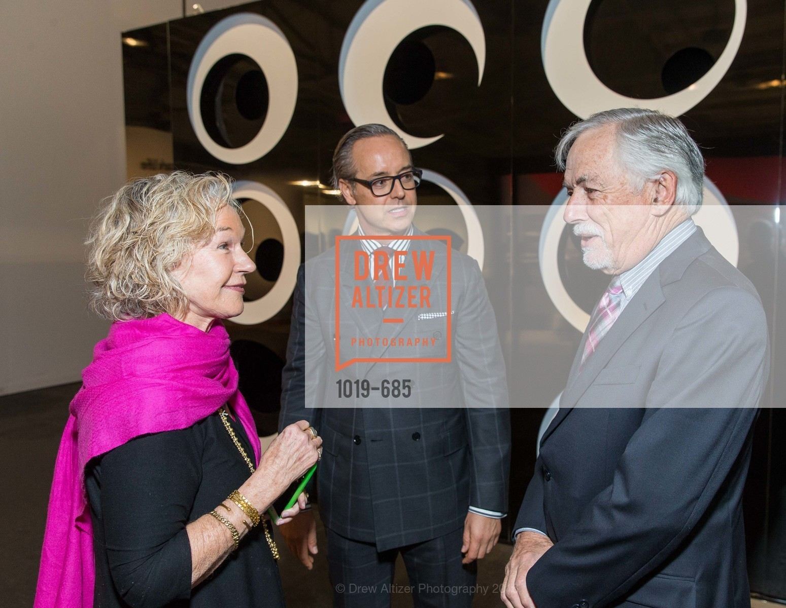 Susie Tompkins Buell, Douglas Durkin, Mark Buell, FOG Design+Art Preview Gala, Fort Mason Center Festival Pavilion, January 13th, 2016,Drew Altizer, Drew Altizer Photography, full-service event agency, private events, San Francisco photographer, photographer California
