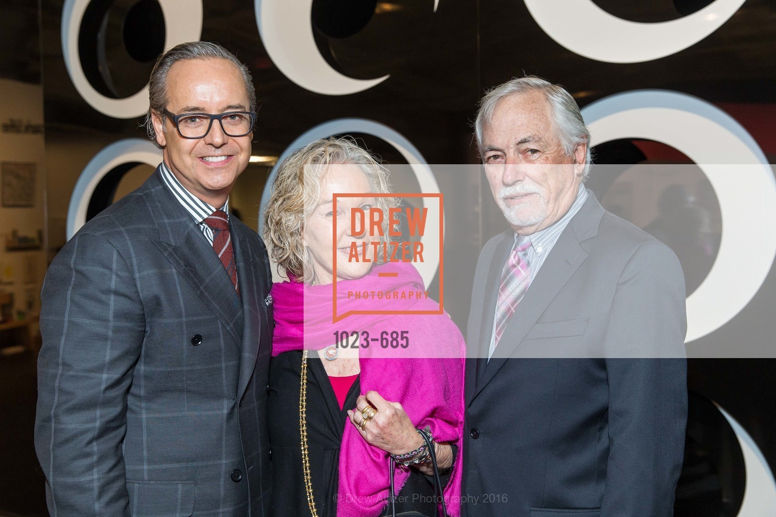 Susie Tompkins Buell, Douglas Durkin, Mark Buell, FOG Design+Art Preview Gala, Fort Mason Center Festival Pavilion, January 13th, 2016,Drew Altizer, Drew Altizer Photography, full-service agency, private events, San Francisco photographer, photographer california