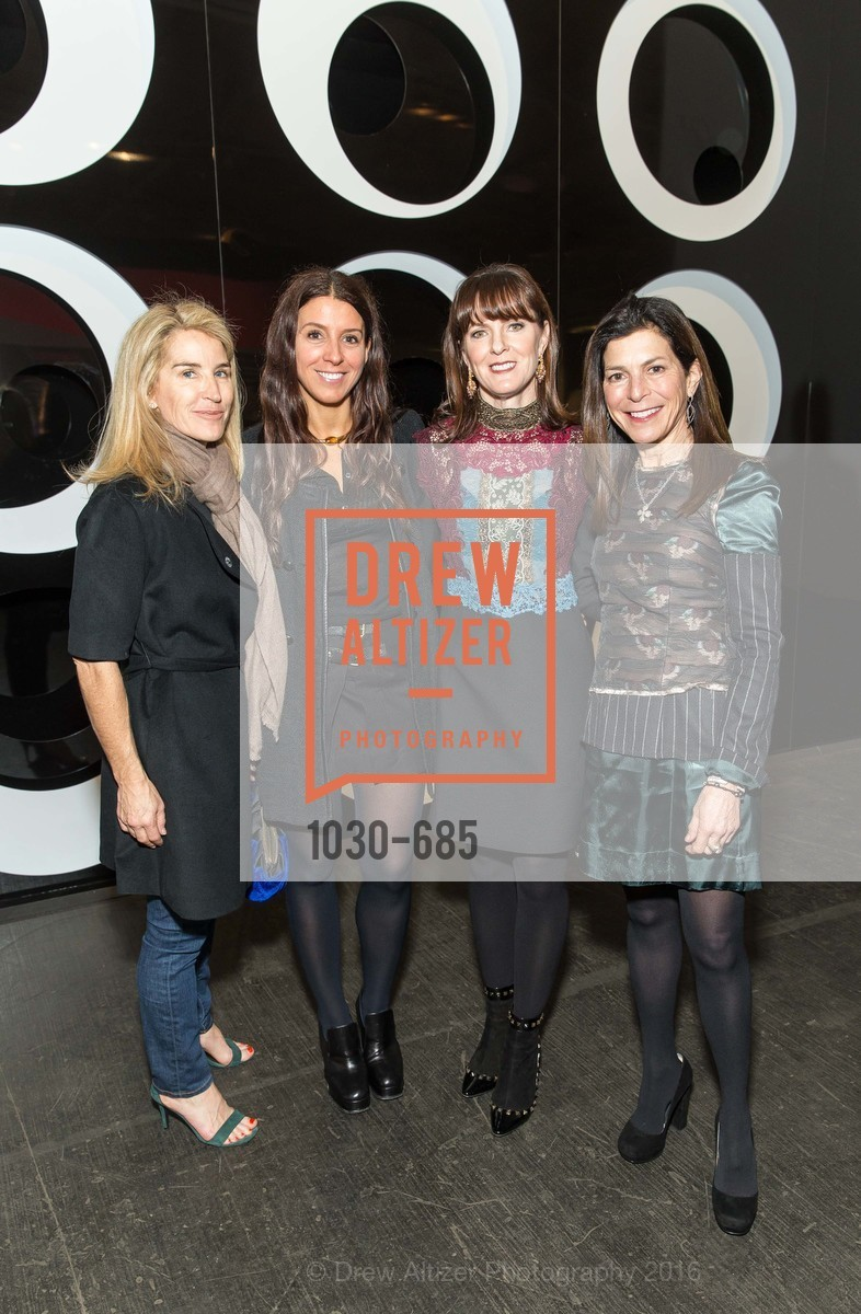 Summer Tompkins Walker, Maca Huneeus, Allison Speer, Susan Swig, FOG Design+Art Preview Gala, Fort Mason Center Festival Pavilion, January 13th, 2016,Drew Altizer, Drew Altizer Photography, full-service agency, private events, San Francisco photographer, photographer california