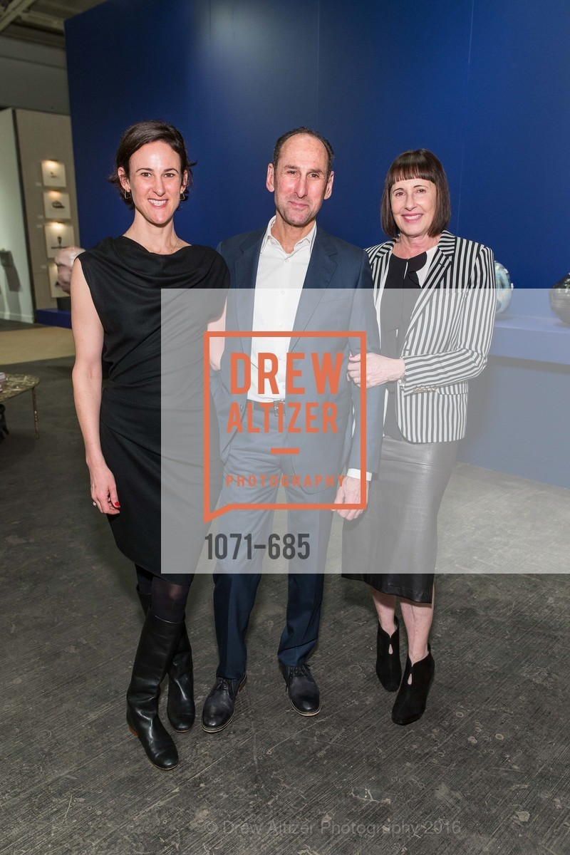 Simone Earnhardt, Rich Silverstein, Carla Emil, FOG Design+Art Preview Gala, Fort Mason Center Festival Pavilion, January 13th, 2016,Drew Altizer, Drew Altizer Photography, full-service agency, private events, San Francisco photographer, photographer california