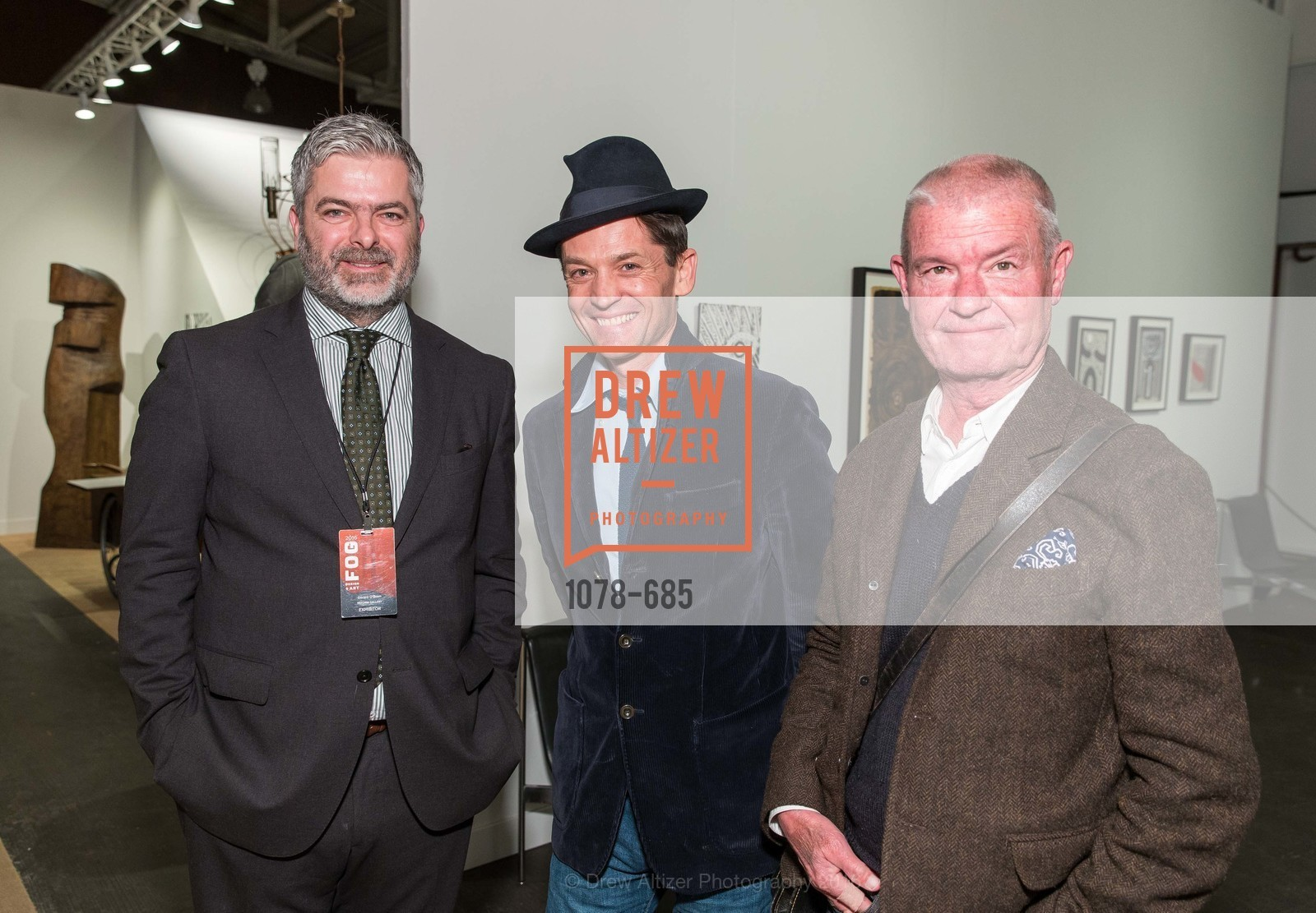 Gerard O'Brien, Daniel de la Falaise, Fletcher, FOG Design+Art Preview Gala, Fort Mason Center Festival Pavilion, January 13th, 2016,Drew Altizer, Drew Altizer Photography, full-service agency, private events, San Francisco photographer, photographer california