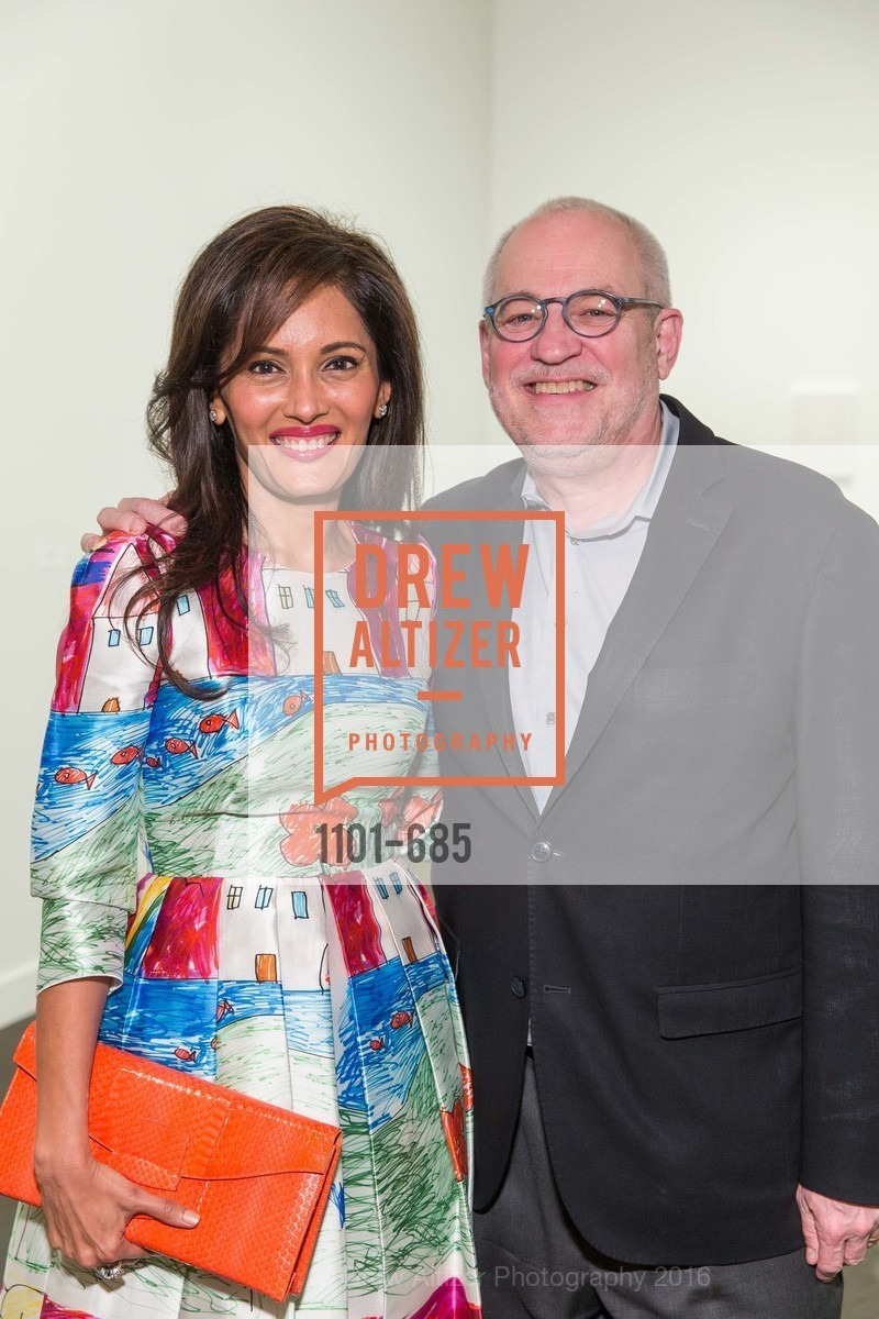 Komal Shah, Gary Garrels, FOG Design+Art Preview Gala, Fort Mason Center Festival Pavilion, January 13th, 2016,Drew Altizer, Drew Altizer Photography, full-service event agency, private events, San Francisco photographer, photographer California