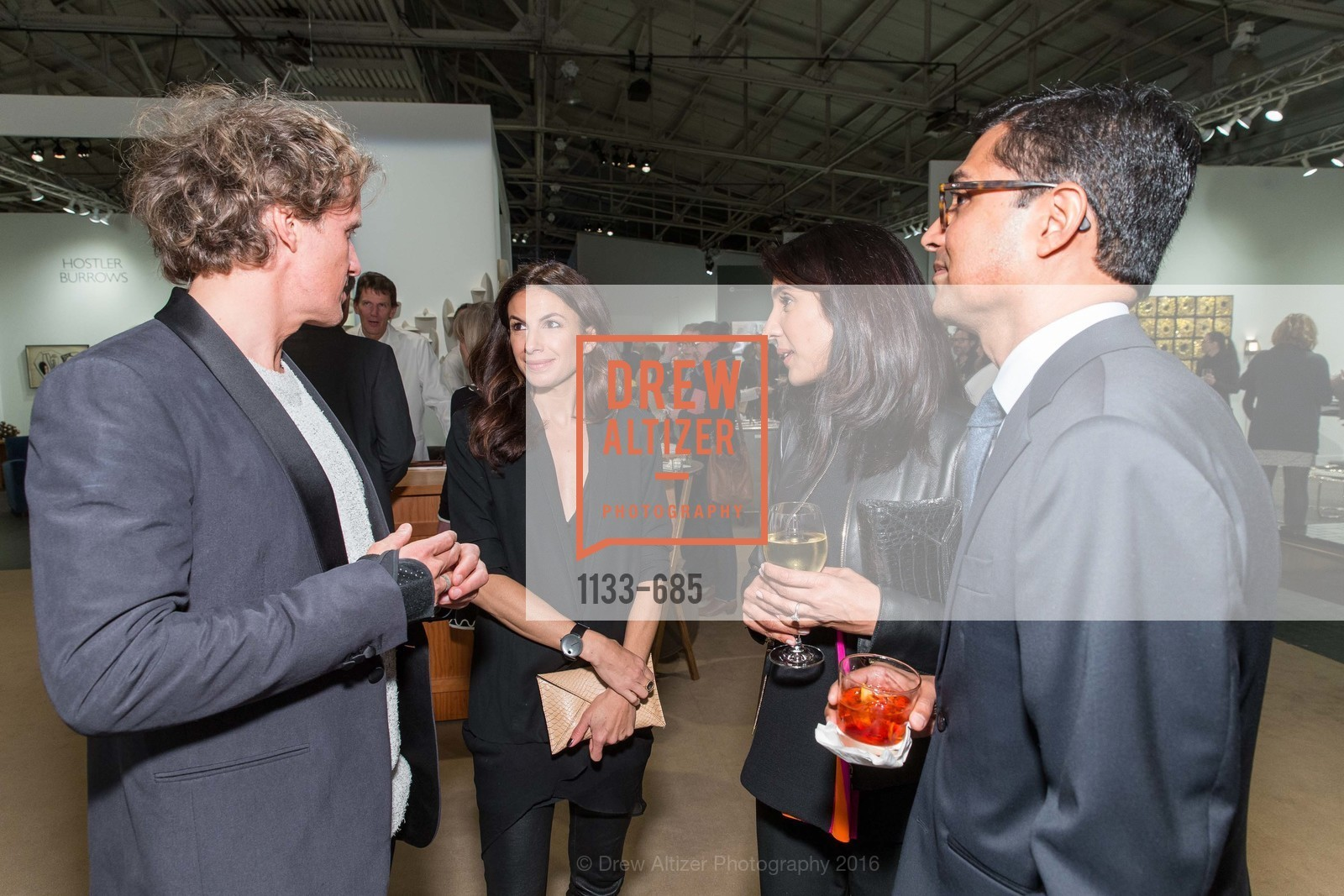 Yves Behar, Sabrina Buell, Alka Agrawal, Ravin Agrawal, FOG Design+Art Preview Gala, Fort Mason Center Festival Pavilion, January 13th, 2016,Drew Altizer, Drew Altizer Photography, full-service agency, private events, San Francisco photographer, photographer california