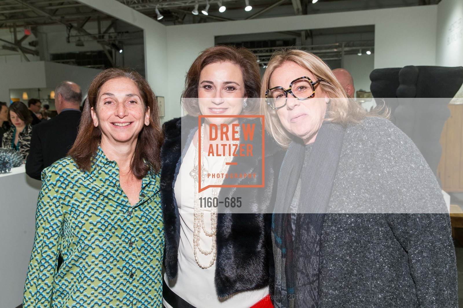 Carla Chammas, Dolly Chammas, Judi Roman, FOG Design+Art Preview Gala, Fort Mason Center Festival Pavilion, January 13th, 2016,Drew Altizer, Drew Altizer Photography, full-service agency, private events, San Francisco photographer, photographer california