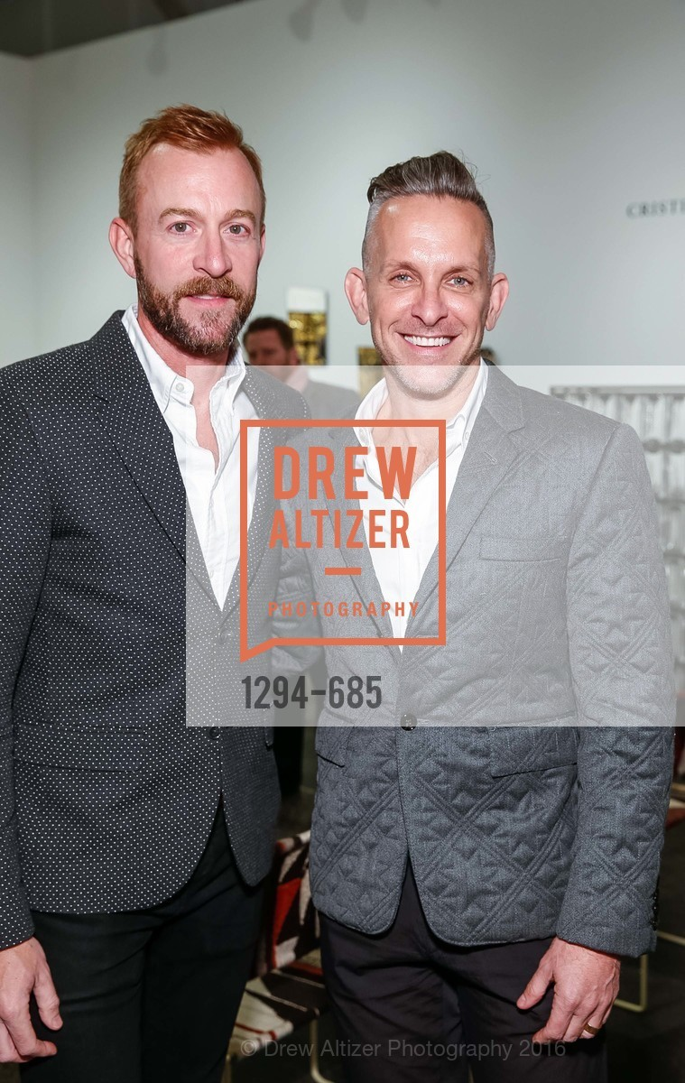 Michael Purdy, Jay Jeffers, FOG Design+Art Preview Gala, Fort Mason Center Festival Pavilion, January 13th, 2016,Drew Altizer, Drew Altizer Photography, full-service agency, private events, San Francisco photographer, photographer california