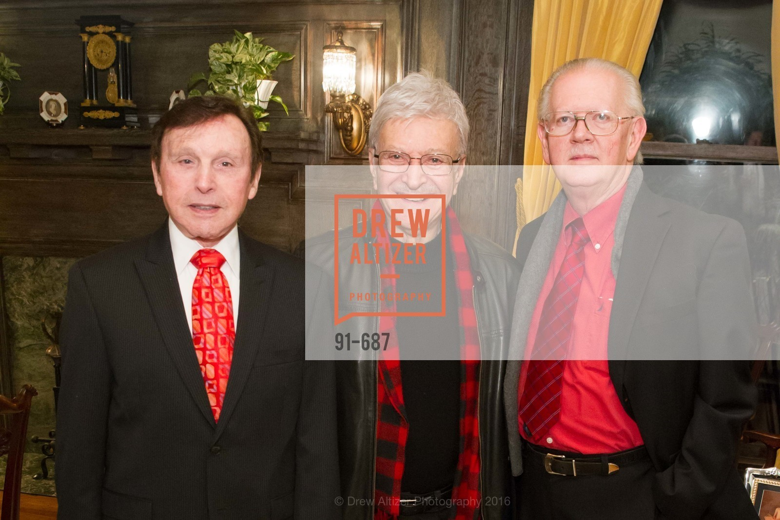Frank Stein, Milton Mosk, Tom Foutch, Benefactor Party for the 2016 Ballet Gala, Private Residence, January 14th, 2016,Drew Altizer, Drew Altizer Photography, full-service agency, private events, San Francisco photographer, photographer california