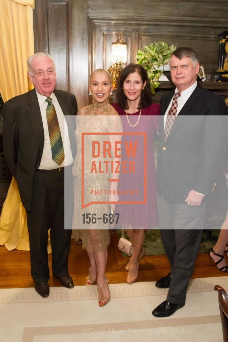 Bill Armstrong, Navid Armstrong, Rada Brooks, Kent Brooks, Benefactor Party for the 2016 Ballet Gala, Private Residence, January 14th, 2016,Drew Altizer, Drew Altizer Photography, full-service agency, private events, San Francisco photographer, photographer california