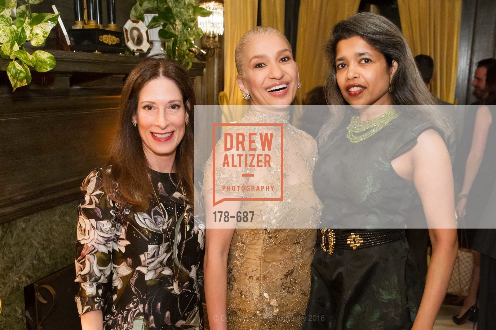 Trecia Knapp, Navid Armstrong, Deepa Pakianathan, Benefactor Party for the 2016 Ballet Gala, Private Residence, January 14th, 2016,Drew Altizer, Drew Altizer Photography, full-service agency, private events, San Francisco photographer, photographer california