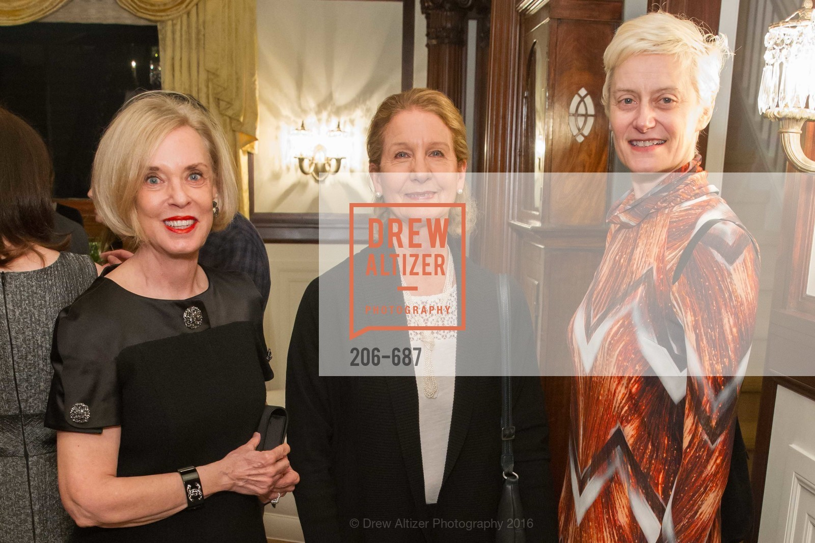 Peggy Newton, Betsy Erickson, Muriel Maffre, Photo #206-687