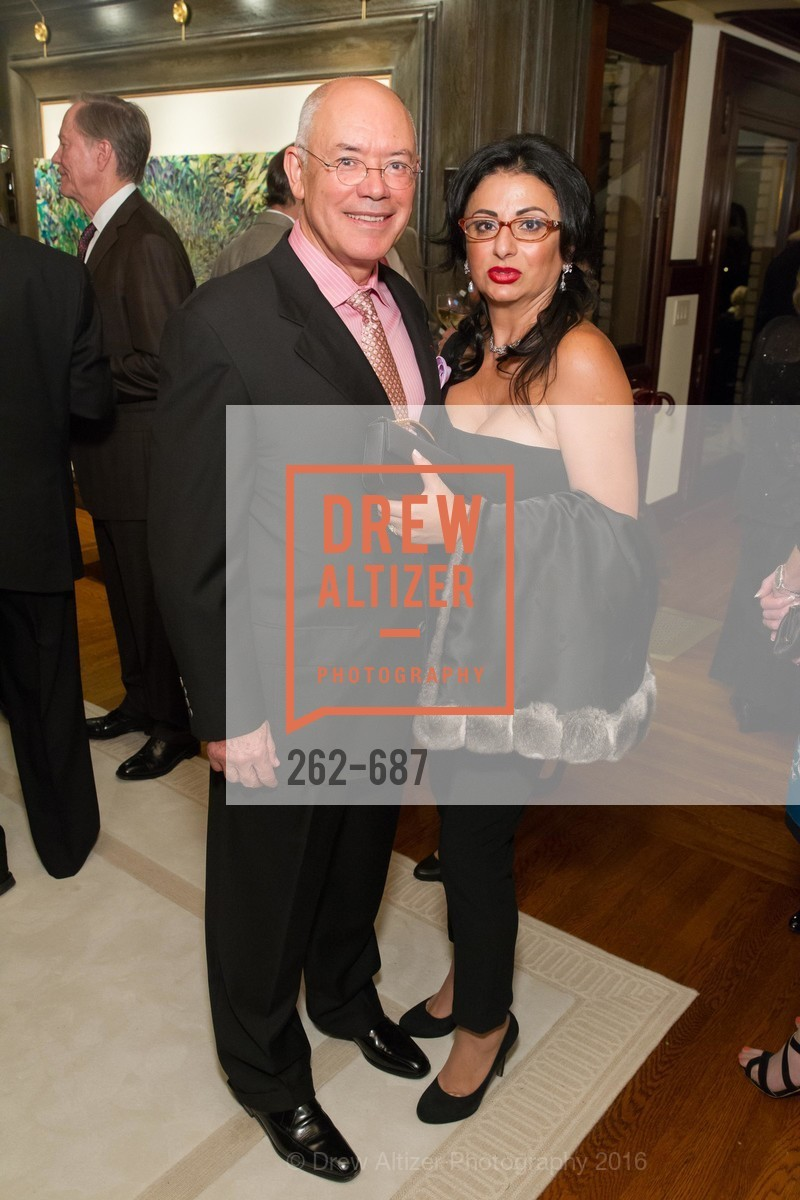 Alain Azan, Esmeralda Azan, Benefactor Party for the 2016 Ballet Gala, Private Residence, January 14th, 2016,Drew Altizer, Drew Altizer Photography, full-service agency, private events, San Francisco photographer, photographer california