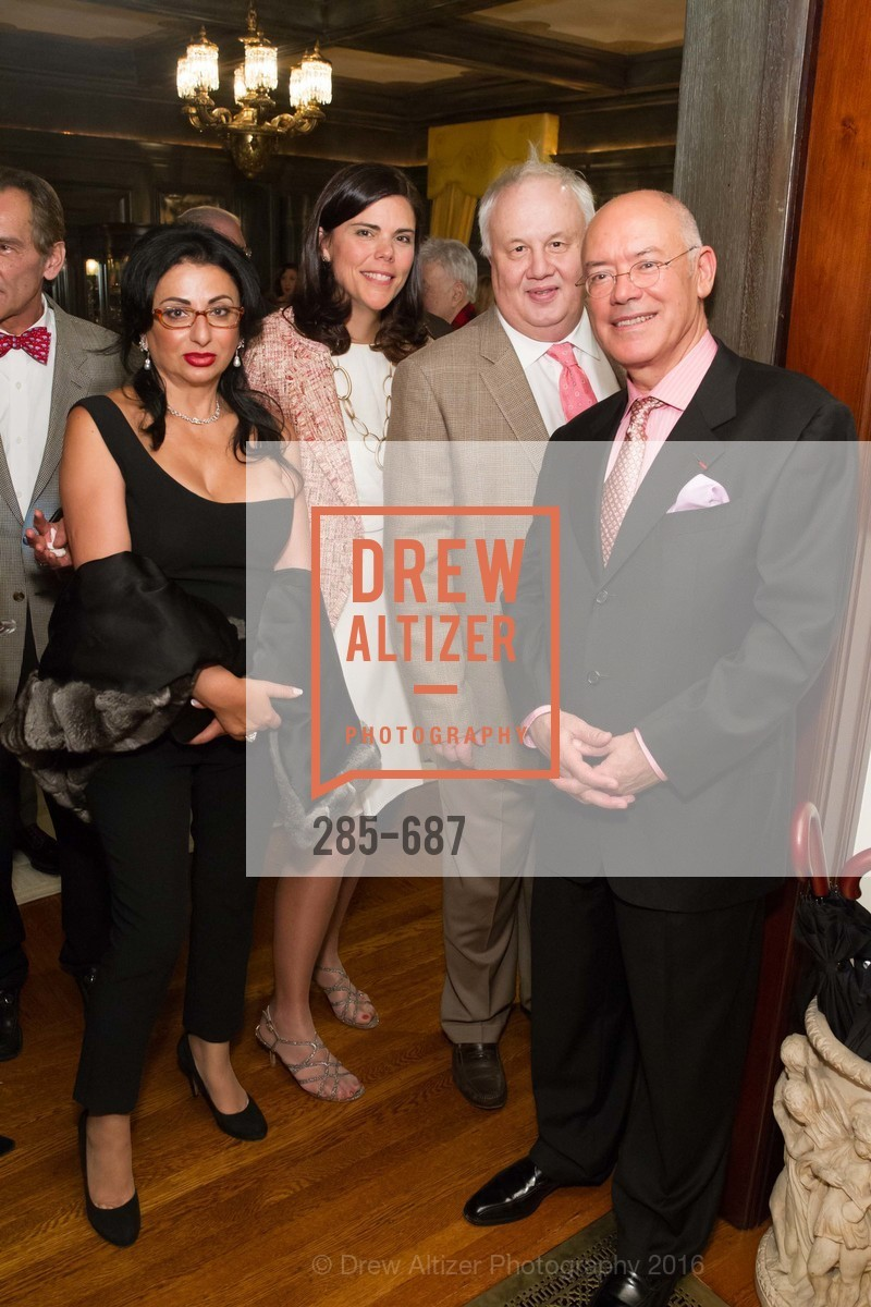 Esmeralda Azan, Trecia Knapp, Bruno Tapolsky, Alain Azan, Benefactor Party for the 2016 Ballet Gala, Private Residence, January 14th, 2016,Drew Altizer, Drew Altizer Photography, full-service event agency, private events, San Francisco photographer, photographer California