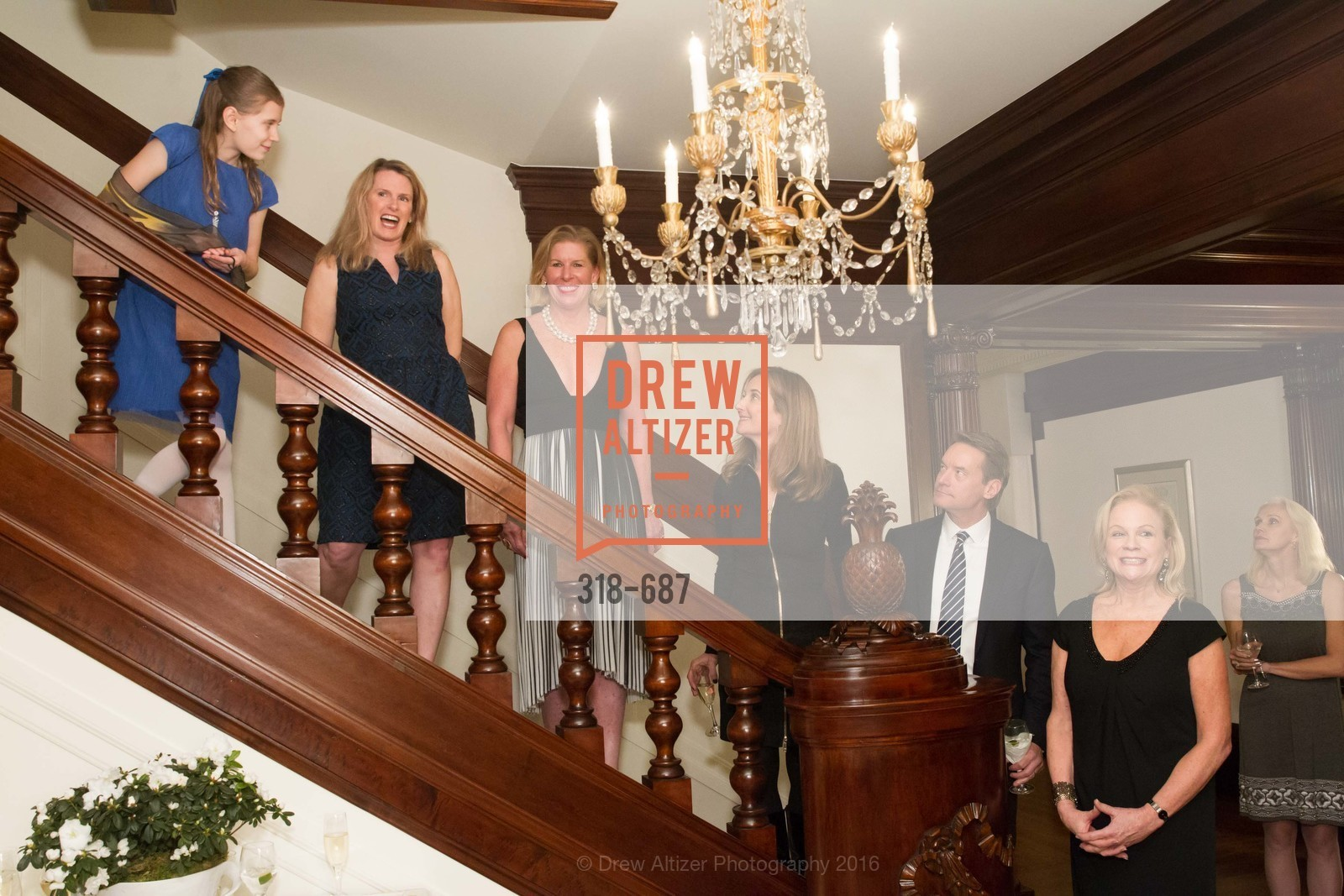 Fiona Dossetter, Marie Hurabiell, Jennifer Brandenburg, Susan Dossetter, David Dossetter, Claire Kostic, Benefactor Party for the 2016 Ballet Gala, Private Residence, January 14th, 2016,Drew Altizer, Drew Altizer Photography, full-service agency, private events, San Francisco photographer, photographer california