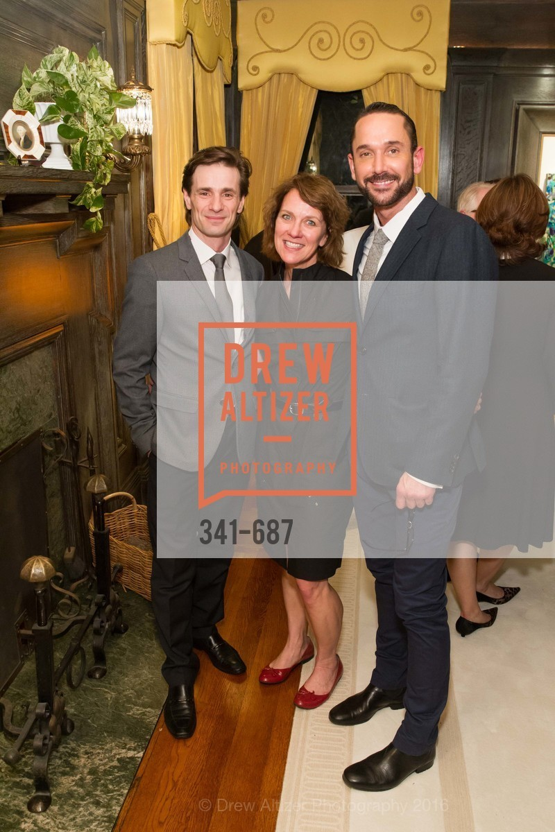 Pascal Molat, Lee Gregory, Damian Smith, Benefactor Party for the 2016 Ballet Gala, Private Residence, January 14th, 2016,Drew Altizer, Drew Altizer Photography, full-service event agency, private events, San Francisco photographer, photographer California