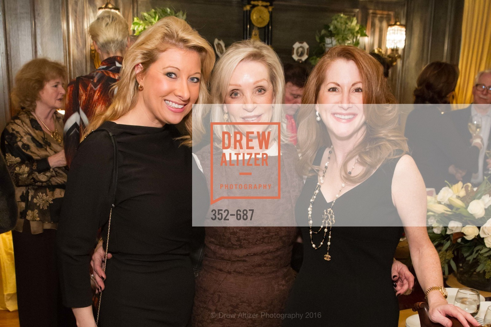 Jennifer Mancuso, Barbara Brown, Ave Seltsam, Benefactor Party for the 2016 Ballet Gala, Private Residence, January 14th, 2016,Drew Altizer, Drew Altizer Photography, full-service agency, private events, San Francisco photographer, photographer california
