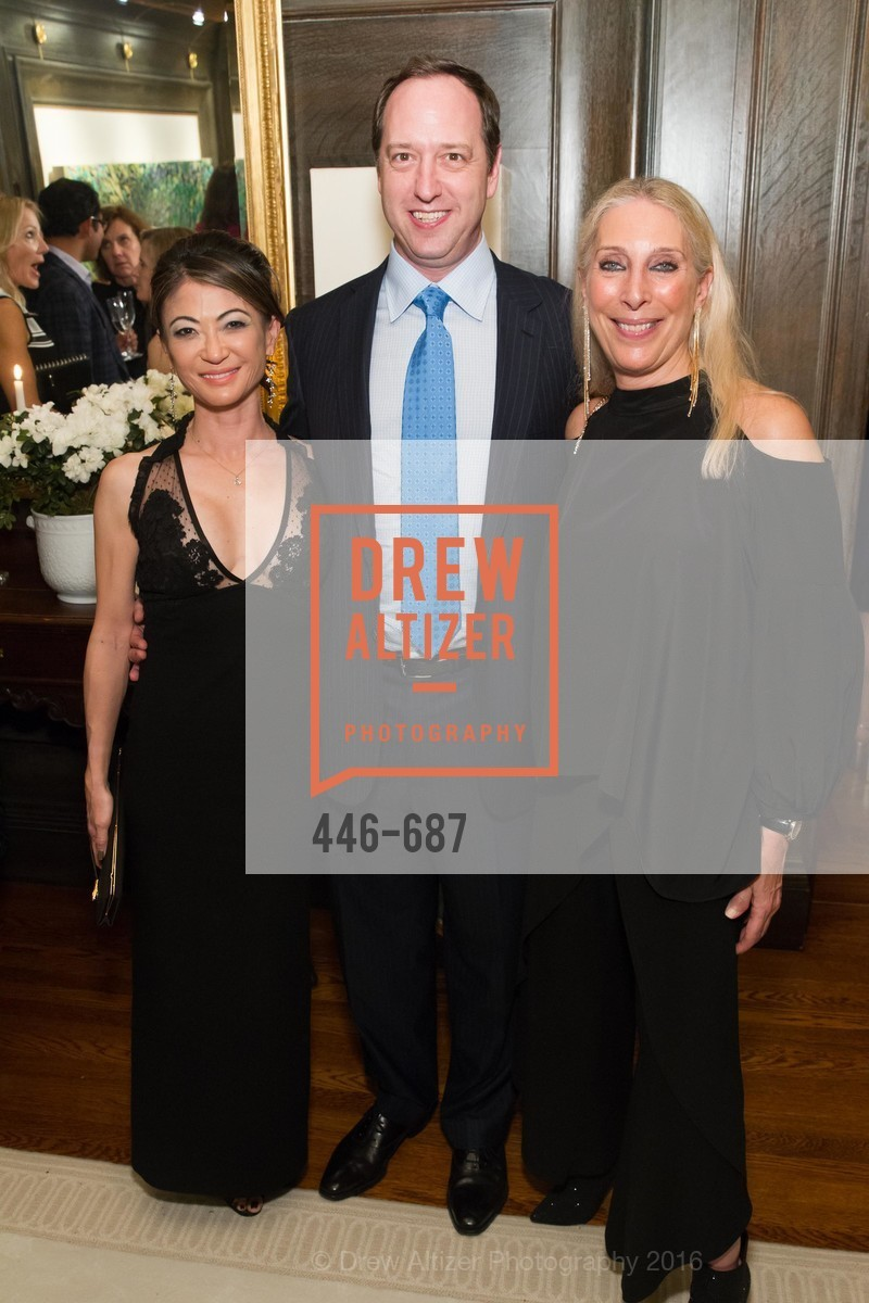 Susan Davenport, Michael Gross, Betsy Linder, Benefactor Party for the 2016 Ballet Gala, Private Residence, January 14th, 2016,Drew Altizer, Drew Altizer Photography, full-service agency, private events, San Francisco photographer, photographer california